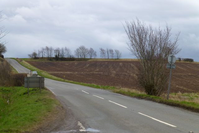 The Melbourne to Donnington road