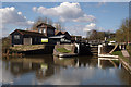 SP2466 : Approach to Hatton Lock no. 42, Grand Union Canal by Julian Osley