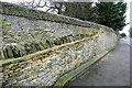 SP4516 : Wall at Blenheim Park by Graham Horn