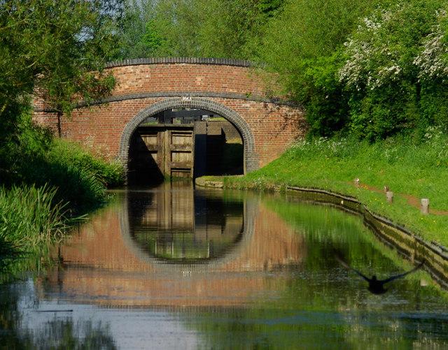 Hardwick Lock Field Bridge No 160