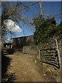 SX7266 : Footpath near Bilberryhill by Derek Harper