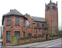 SK4641 : Ilkeston - United Reformed Church by Dave Bevis