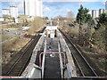 NS5268 : Garscadden railway station, Glasgow by Nigel Thompson