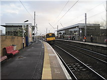 NS5566 : Partick railway station by Nigel Thompson