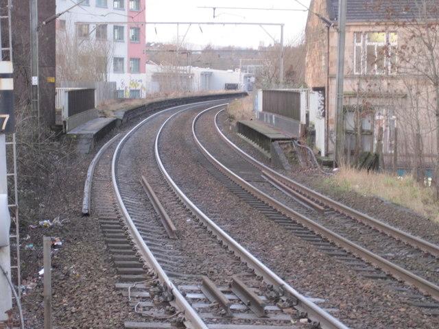 Partickhill railway station (site)