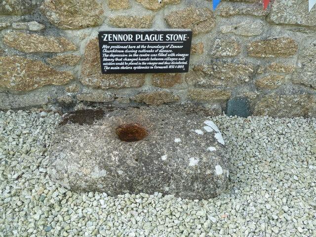Zennor Plague Stone