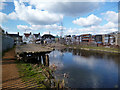 SU9780 : Old Wharf, Slough Canal by Des Blenkinsopp