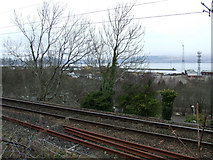 NS3074 : The Wemyss Bay railway line by Thomas Nugent