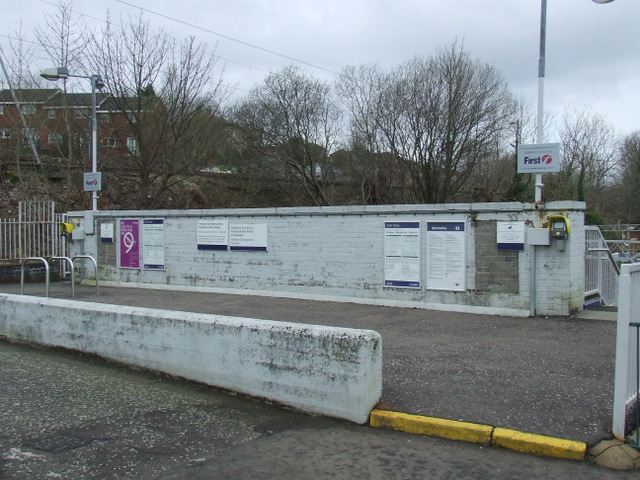Bogston railway station