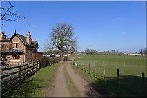 SK1820 : Bridleway past Springs Bank Farm by Tim Heaton