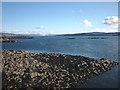NM4862 : Tidal rocks, Port na Luinge, Kilchoan by Karl and Ali
