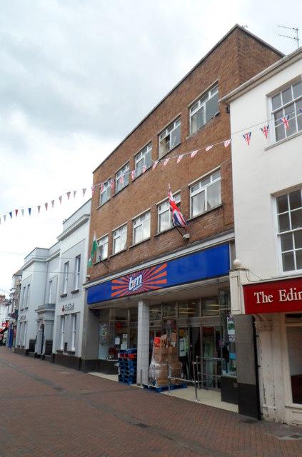 B&M Bargains in former Woolworths, Abergavenny