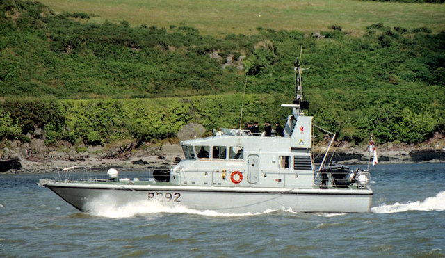 "HMS ""Charger"", River Suir"