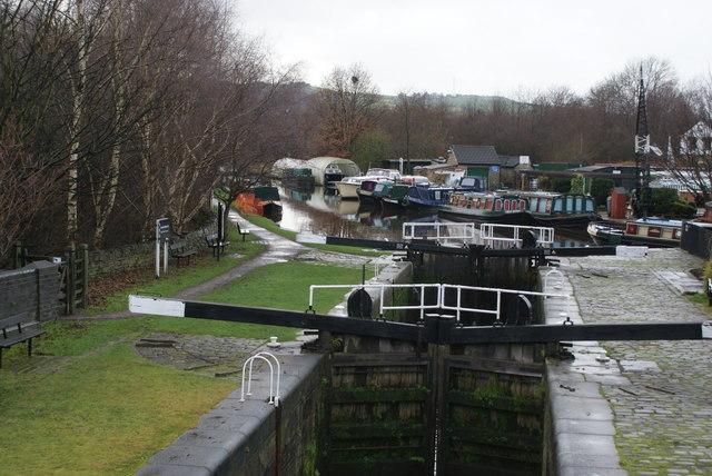 Shepley Bridge Lock, Mirfield Cut, Calder & Hebble Navigation