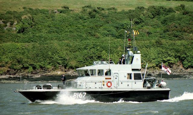 """HMS """"Exploit"""", River Suir"""