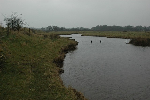 Pond near Ginns, Beaulieu River