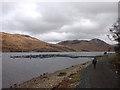 NM5637 : New fish farm, Loch Ba by Karl and Ali