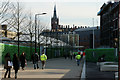 TQ3083 : View Towards St.Pancras Railway Station by Peter Trimming