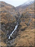 NH0217 : Allt Grannda waterfall (2) by Jim Barton