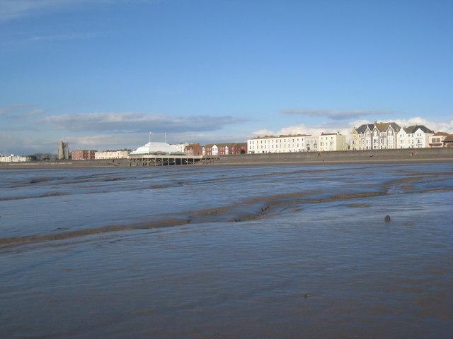 The seafront, Burnham on Sea