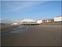 ST3049 : The pier, Burnham on Sea by Jonathan Thacker