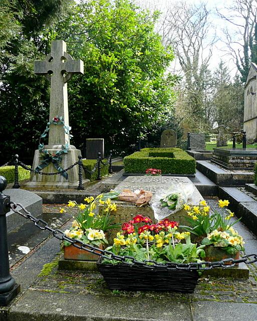 Grave of Sir Winston Churchill
