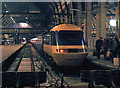 TQ3083 : Night scene at Platform 5 - King's Cross by The Carlisle Kid
