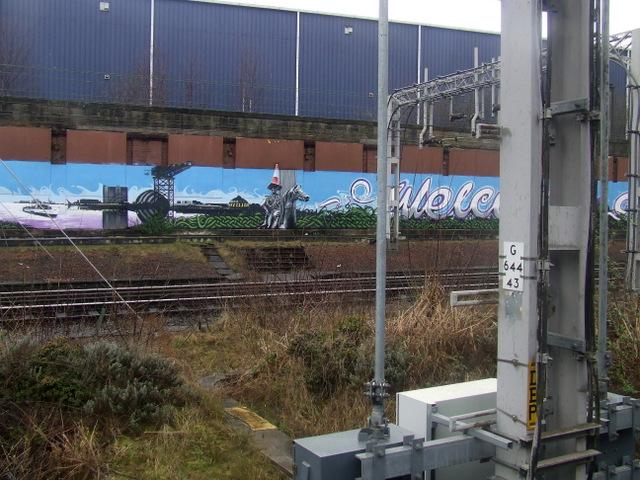 Welcome to Glasgow railway graffiti