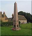 TF8943 : Holkham war memorial by Trevor Littlewood