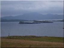 NG2261 : Trumpan: view up Loch Bay by Chris Downer