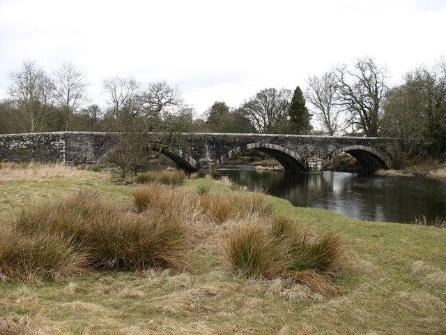 Isel Bridge, over the River Derwent