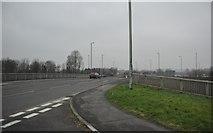 ST0207 : Mid Devon : M5 Motorway Junction 28 by Lewis Clarke