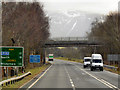 NY2624 : Bridge over the A66 by David Dixon