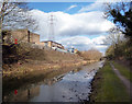 TQ0380 : Slough Canal and Ridgeway Trading Estate by Des Blenkinsopp