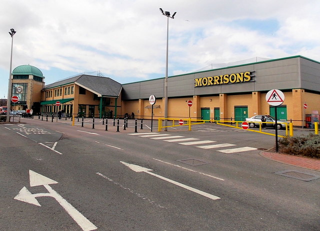 Morrisons superstore, Barry
