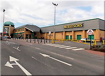 ST1167 : Morrisons superstore, Barry by Jaggery