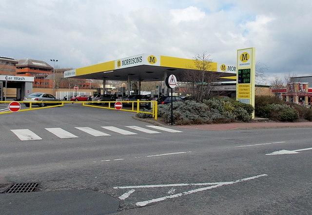 Morrisons fuel station, Barry