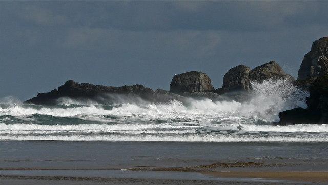 Breezy weather Achininver beach
