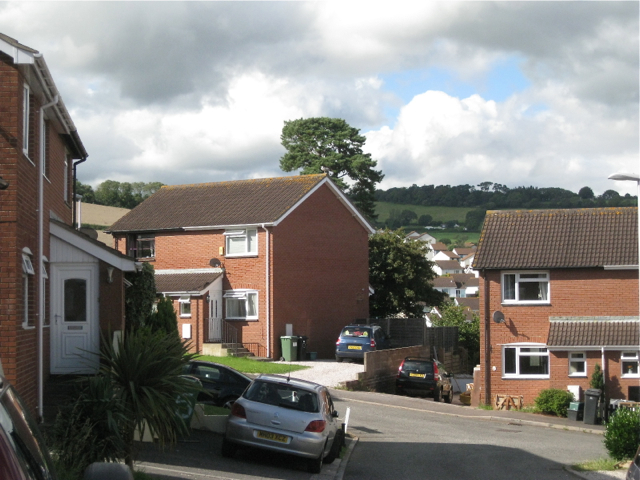 Across Perros Close, Teignmouth