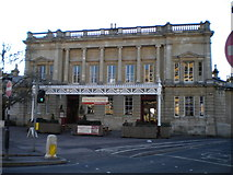 ST7464 : Former station building, Bath Green Park by Richard Vince