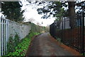 SX8671 : Templer Way off Forde Rd by N Chadwick