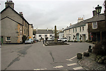 SD3778 : The Square, Cartmel by Peter Turner