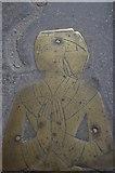 TQ9220 : Brass detail, St Mary's church, Rye by Julian P Guffogg