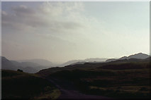 NY2201 : Hard Knott Pass: view westwards at sunset by Christopher Hilton