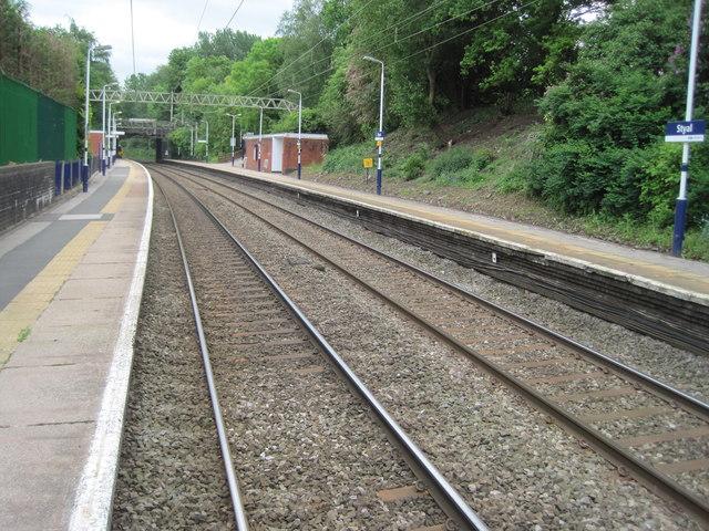 Styal railway station