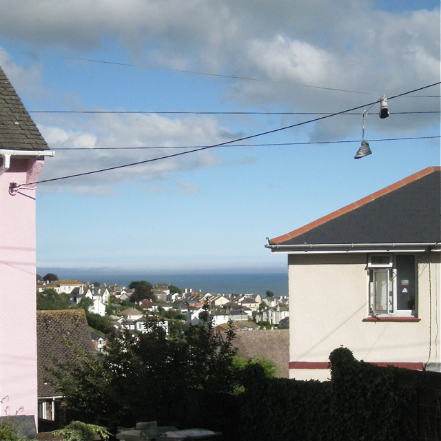 View from Hutchings Way, Teignmouth