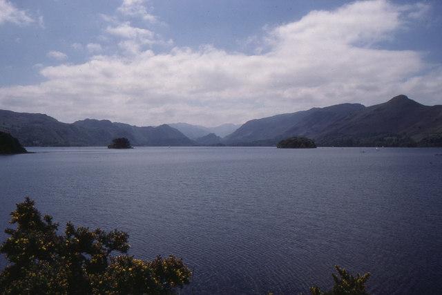 Derwent Water from Friars Crag