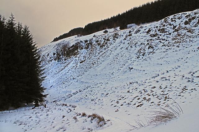 Path to Glen Quey