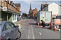 SK5236 : Chilwell Road is closed by David Lally