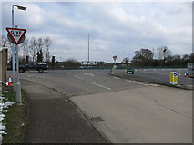 TL4259 : Trees gone on Madingley Road by Hugh Venables